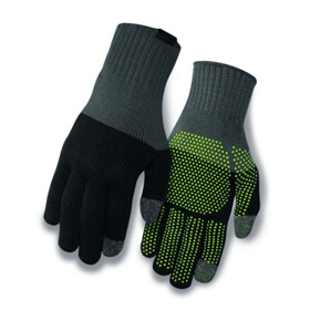 Giro Merino Wool Gloves grey/black